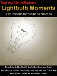Start Your Internet Business Lightbulb Moments